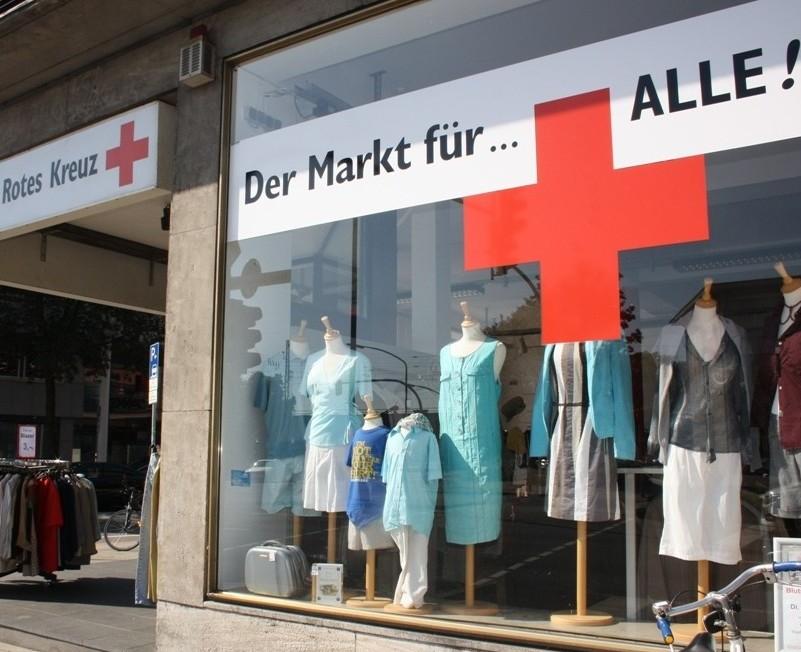 Im Markt für ALLE werden Altkleider verkauft. Foto: Charlotte Thiesing
